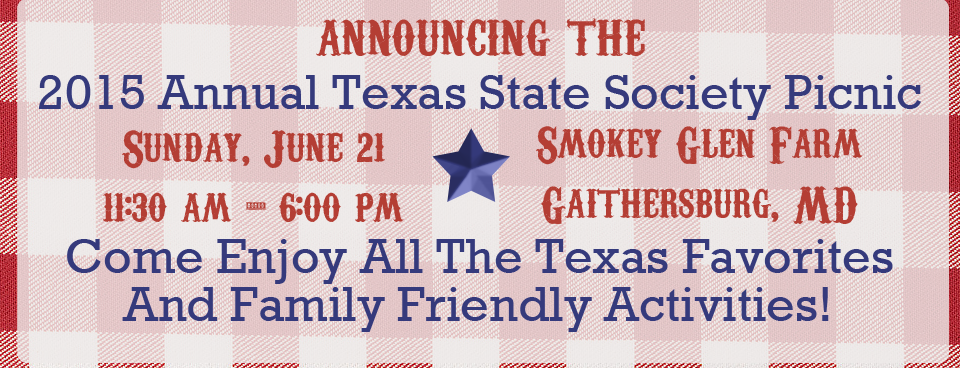 Annual Texas State Society Picnic