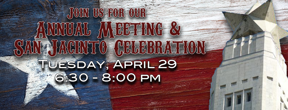 2014 Annual Meeting & San Jacinto Celebration